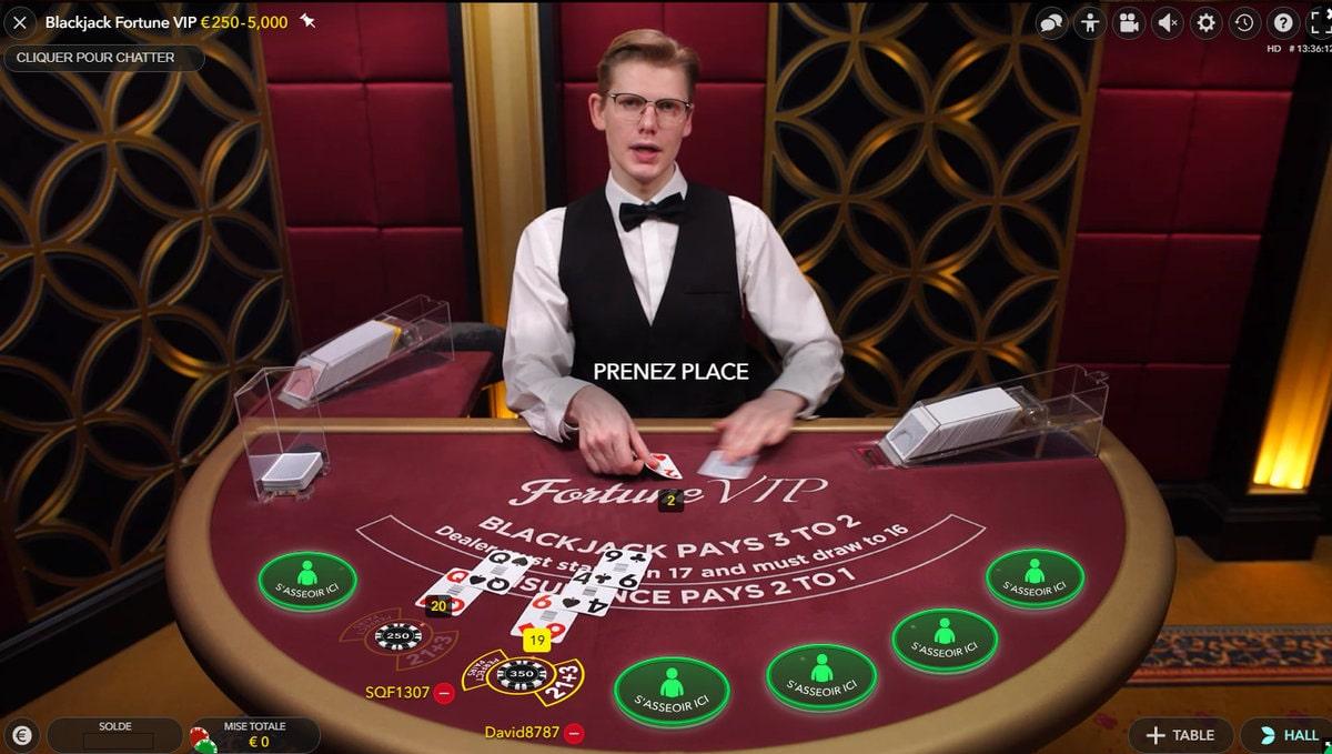 Fortune vip blackjack no deposit