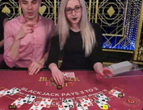 Profitez de l'ambiance fun de Blackjack Party en live sur Dublinbet