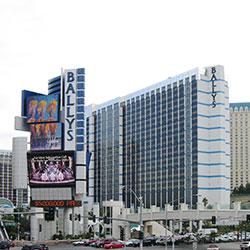 Jackpot au blackjack au Bally's Las Vegas