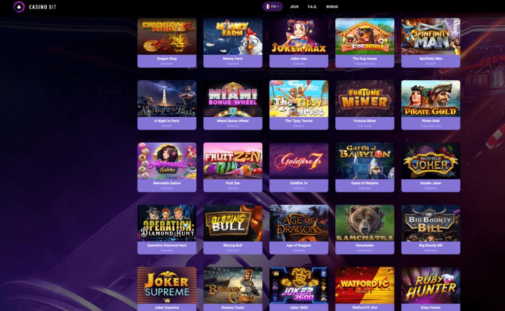CasinoBit, le meilleur Casino en ligne bitcoin