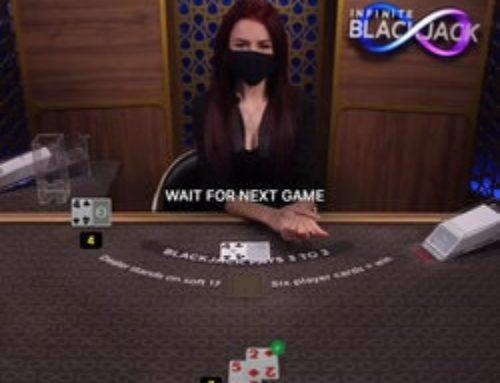 Top 5 des jeux de blackjack avec croupier en live