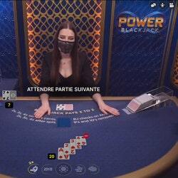 Power Blackjack sur Cresus Casino, la table de blackjack en ligne a ne pas louper