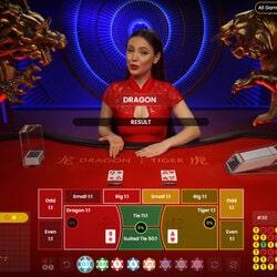 La table Dragon Tiger est dispo sur CasinoBit