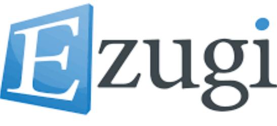 Logo du logiciel et casinos Ezugi